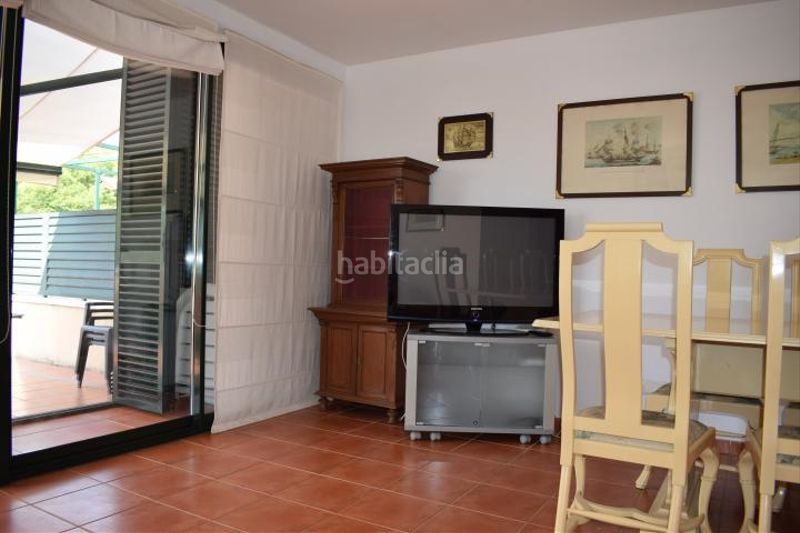 salón. Miete appartement mit parking pool in Platja-Els Munts Torredembarra