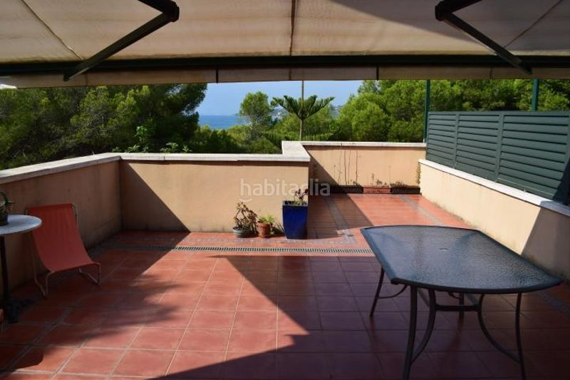 terraza. Miete appartement mit parking pool in Platja-Els Munts Torredembarra