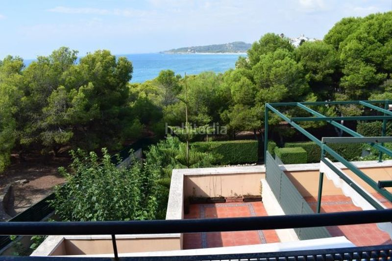 vistas dormitorio. Miete appartement mit parking pool in Platja-Els Munts Torredembarra