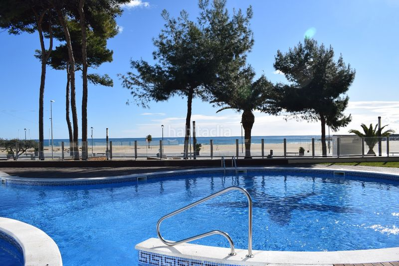 vistas. Appartement mit heizung parking pool in Platja-Els Munts Torredembarra