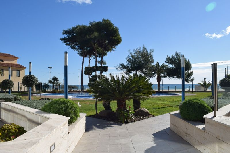 zona comun. Appartement mit heizung parking pool in Platja-Els Munts Torredembarra