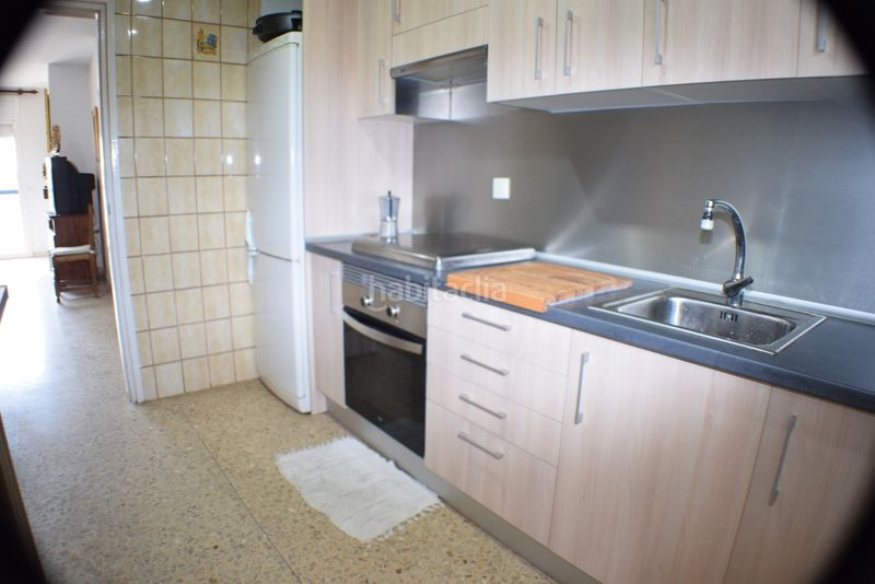 cocina. Appartement mit kamin pool in Platja-Els Munts Torredembarra