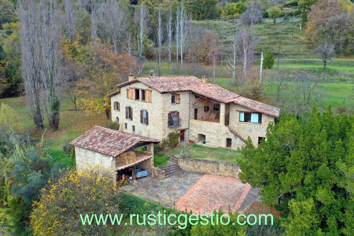 Country house in Riudaura