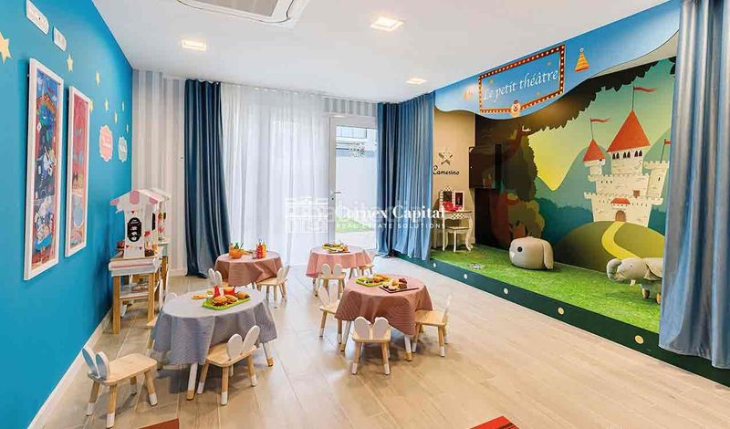Sala de juegos infantil. Flat 104m<sup>2</sup> with heating parking pool in Centre Sant Andreu de Llavaneres