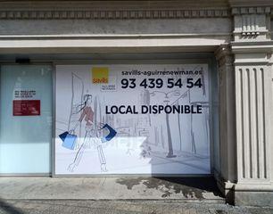 Lloguer Local Comercial a Plaça francesc macia, 2. Con excelente ubicación