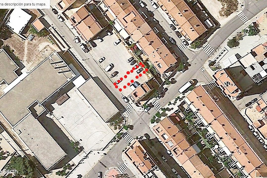 Urban plot in Carrer francisco rodriguez, 25. Solar centrico, cerca puerto