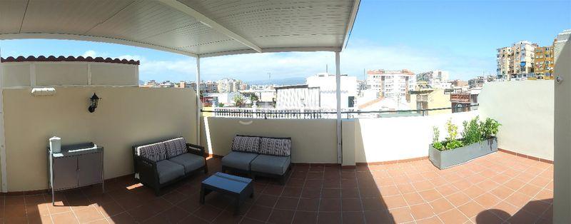 Ático en Calle velasco, sn. Con gran terraza privada y muy cerca de la playa (Málaga, Málaga)