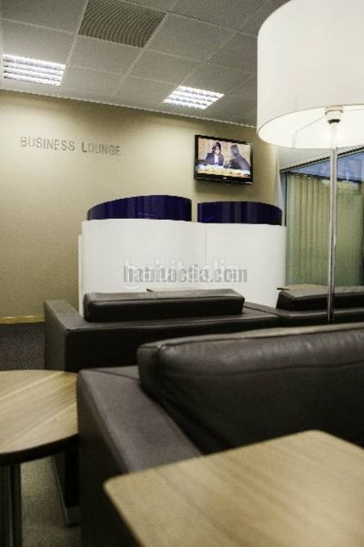 Business Lounge. Alquiler oficina en gran via de les corts coworking regus gran via en Barcelona