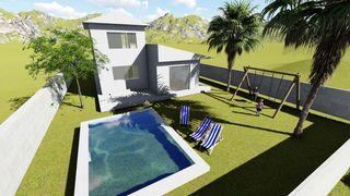 Casa  Carrer canigo. Sobre plano con jardín y piscina