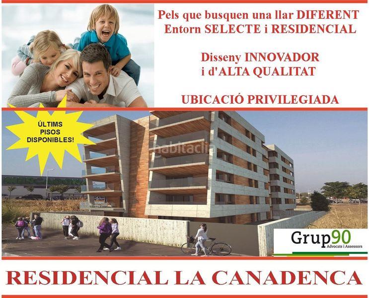 Edifici habitatges d´Obra nova a   Cappont Lleida RESIDENCIAL LA CANADENCA. PISOS 4HAB. TERRAZA 21M2