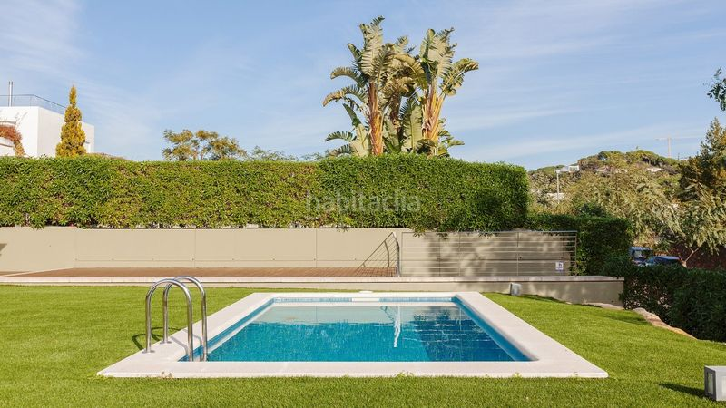 Piscina. Miete haus mit heizung parking pool in Sant Vicenç de Montalt