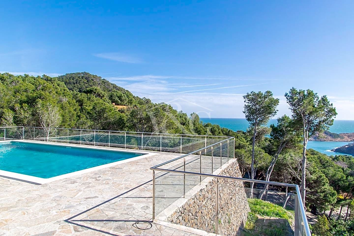 House Aiguafreda-Sa Tuna. Modern villa with sea views