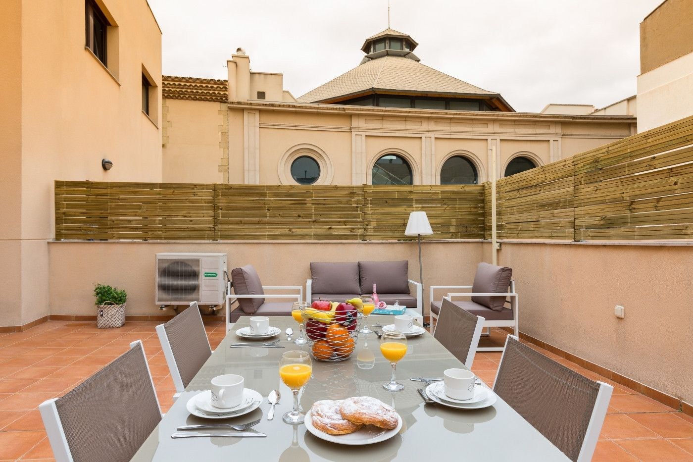 Holiday lettings Apartment  Riera (la). Gran terraza