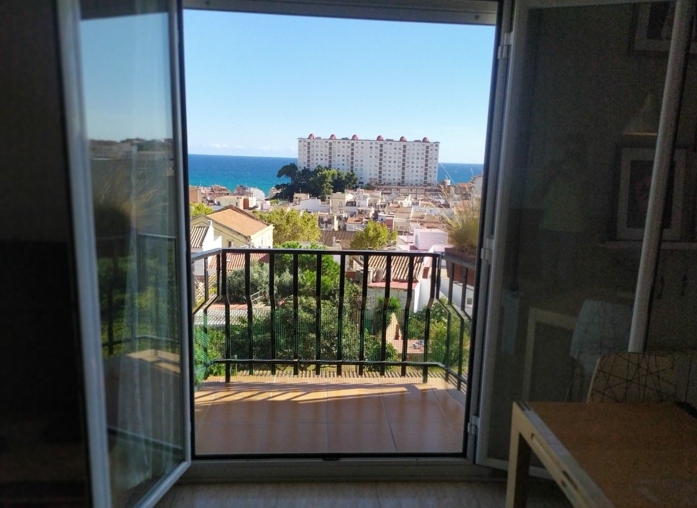 Apartament en Canet de Mar. Increibles vistas