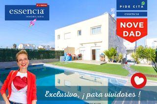 Haus en Daimús. Casa exclusiva con piscina y jardín para soñadores. vivir es un