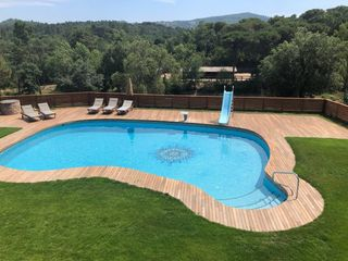 Holiday lettings Country house in Maçanet de la Selva. Masia para 14 pers. con piscina