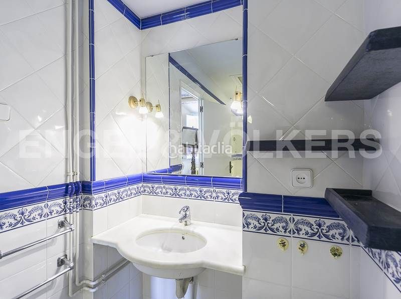 Baño 1. Rent house with heating parking in Canovelles