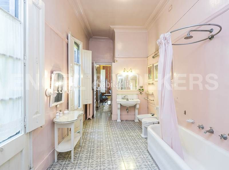 Baño 2. Rent house with heating parking in Canovelles