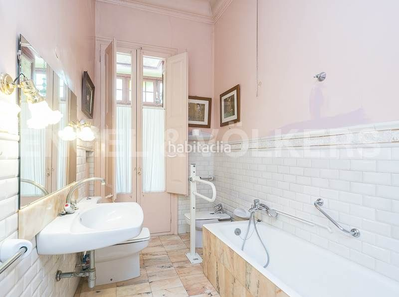 Baño 3. Rent house with heating parking in Canovelles
