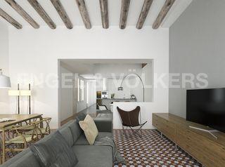 Apartament a Gòtic. Obra nueva. Obra nova