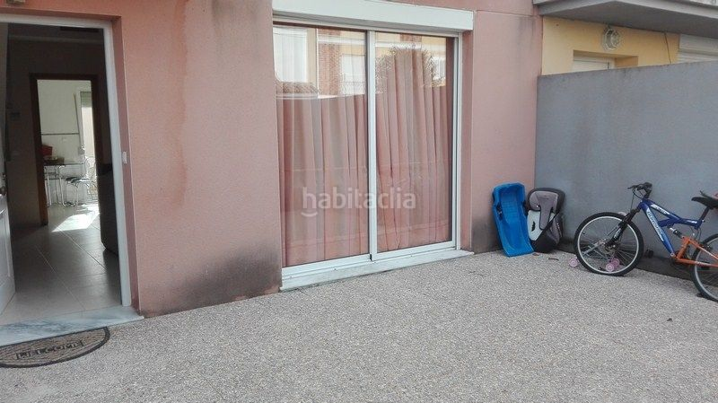 Terraza posterior. Semi detached house in calle fortaleny in La Vega-Marenyet Cullera