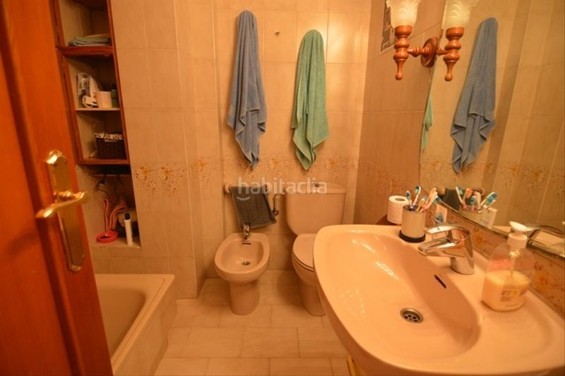 Baño. Chalet with fireplace heating parking pool in Racó Cullera