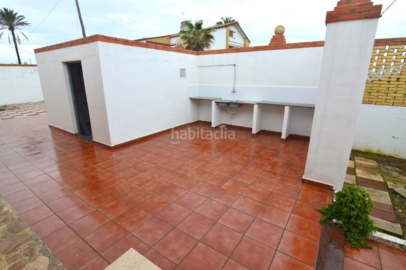 Terraza. Chalet with parking pool in El Faro-el Dossel Cullera