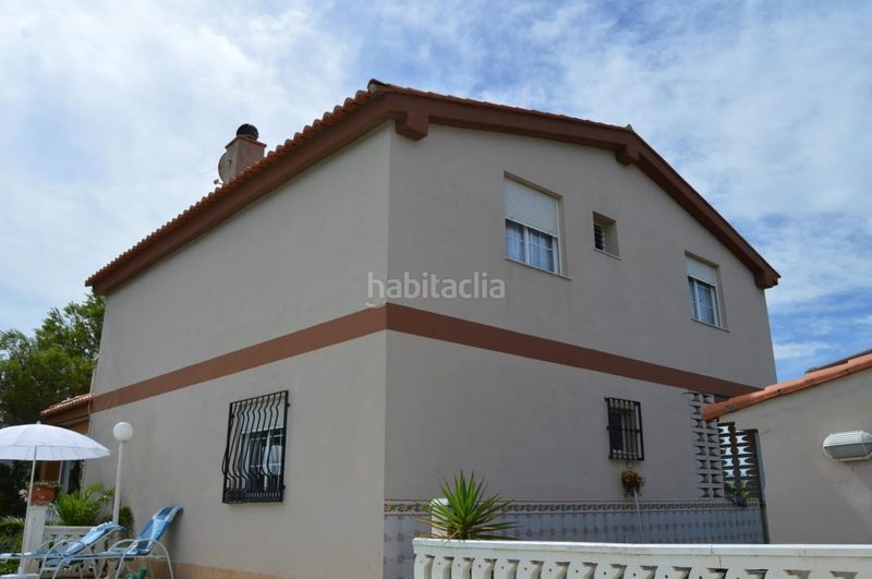 Fachada. Chalet with fireplace parking pool in El Faro-el Dossel Cullera