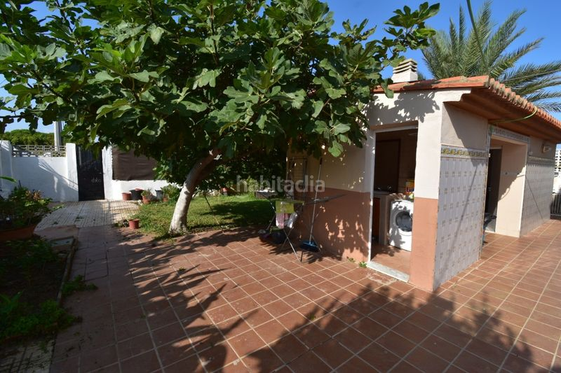 Jardín. Chalet with fireplace parking pool in El Faro-el Dossel Cullera