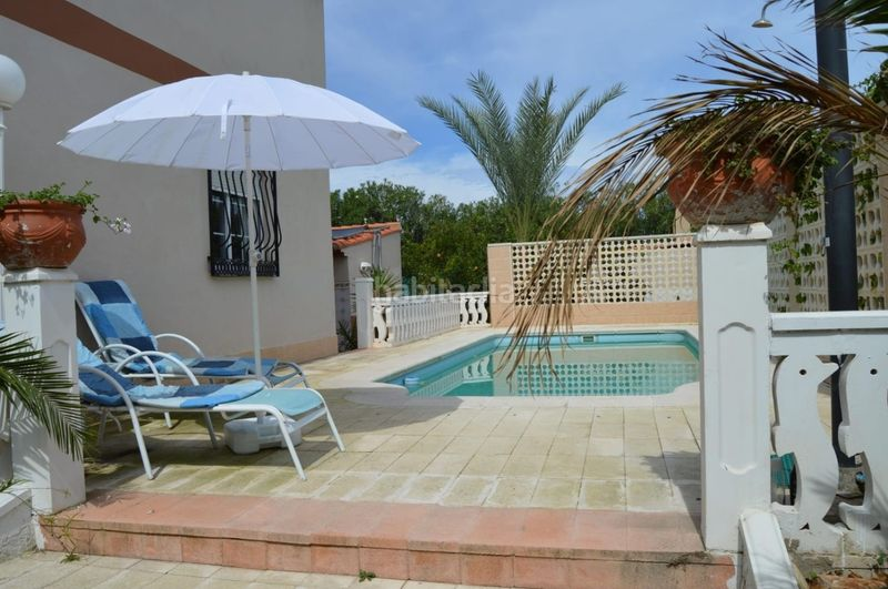 Piscina. Chalet with fireplace parking pool in El Faro-el Dossel Cullera