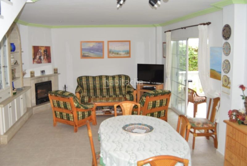 Salón comedor. Chalet with fireplace parking pool in El Faro-el Dossel Cullera