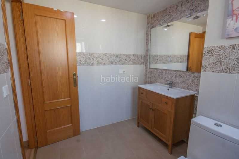 Baño. Chalet with fireplace parking pool in Sant Antoni Cullera