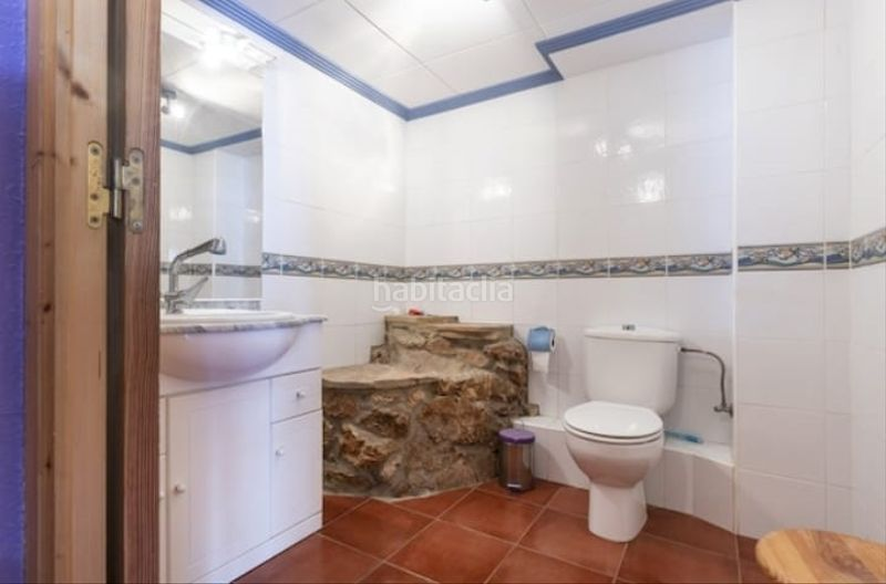 Baño. Semi detached house with fireplace parking pool in Cullera