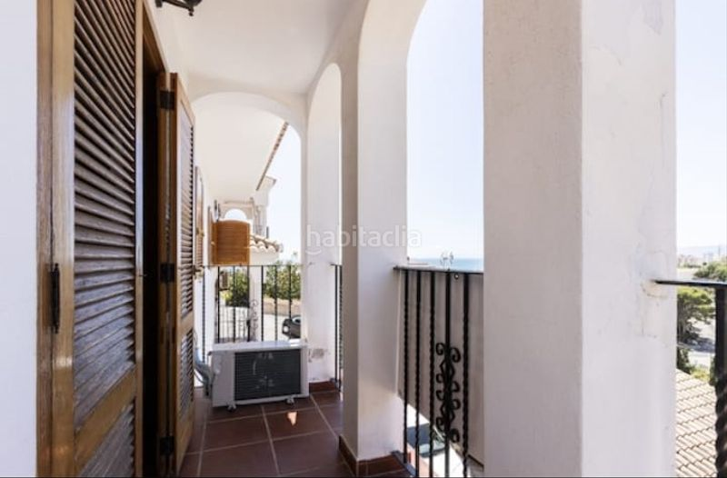 Terraza. Semi detached house with fireplace parking pool in Cullera