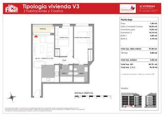 Apartament en Calle jaime beltran, 28. Obra nueva. Obra nova