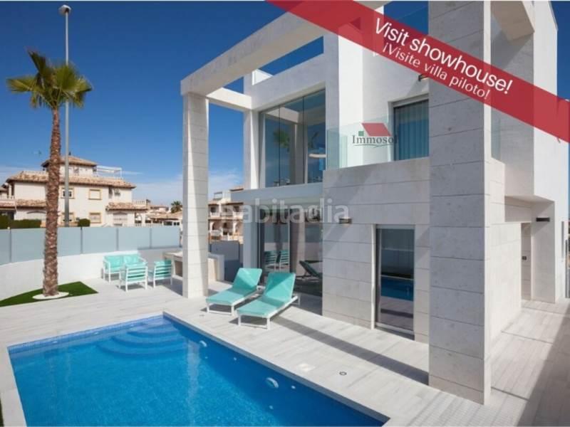 Casas unifamiliares de obra nueva en Lomas de Cabo Roig-Los Dolses Orihuela PALM BEACH III