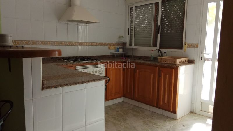 Cocina. House with fireplace parking pool in Urbanizaciones Alzira