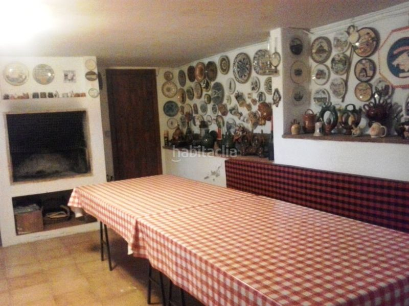 Comedor para calçotadas. Country house with fireplace parking pool in Valls