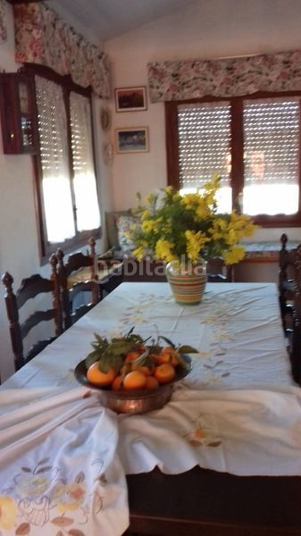 salon comedor. Country house with fireplace parking pool in Valls