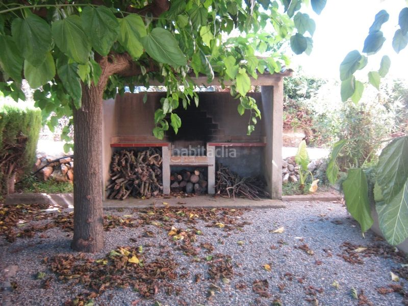 barbacoa . Country house with fireplace parking in Valls