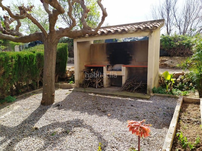 Barbacoa. Country house with fireplace parking in Valls
