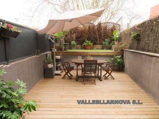 Erdgeschoss  Vallehermoso. Planta baja con terraza  parking