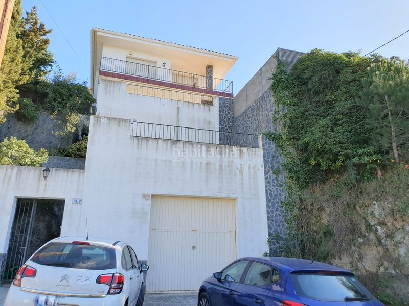 Fachada. Haus mit kamin heizung parking pool in Centre Arenys de Mar