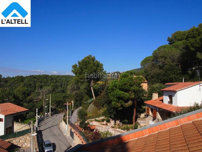 Vistas. Semi detached house with fireplace heating parking pool in Ametlla del Vallès (L´)