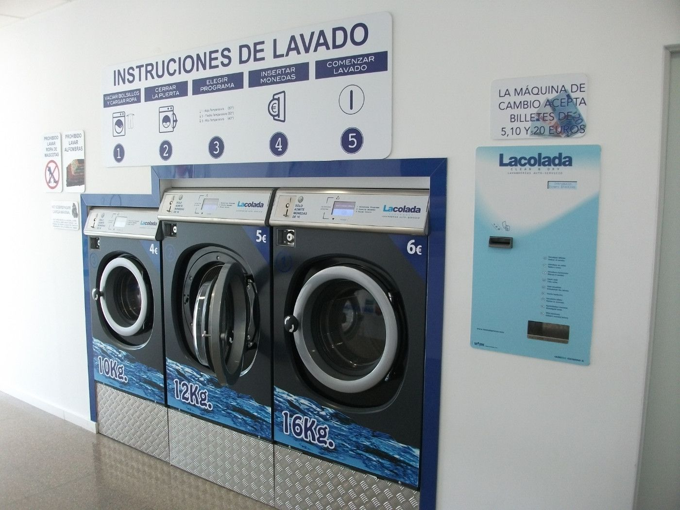 Transfer Other business in El Carmen. Lavanderia autoconsumo
