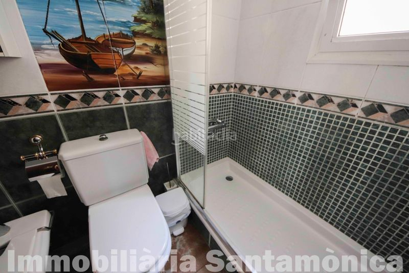 BAÑO COMPLETO. House with fireplace heating parking in Can Moré-Santa Anna Pineda de Mar