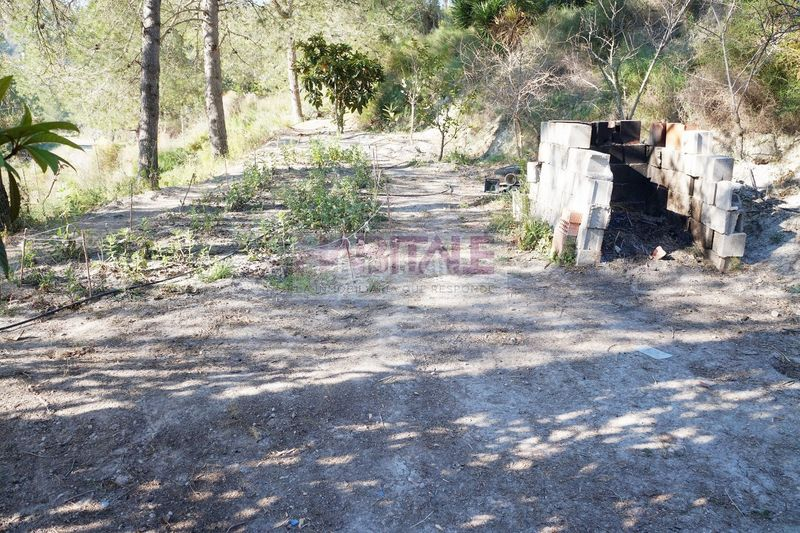 CAMPO. Chalet with fireplace heating in Xàtiva