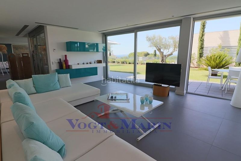 Salón. House with heating parking pool in Puig Rom-Canyelles-Almadrava Roses
