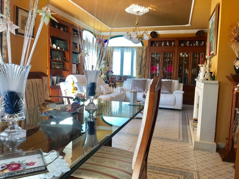 Salón comedor. Chalet with fireplace heating parking pool in Molins de Rei