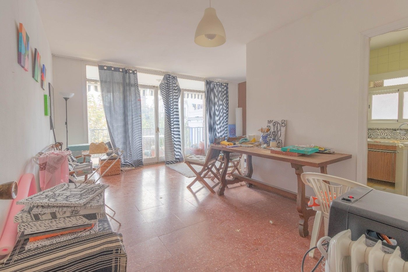 Flat in 2n linea de mar